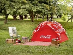 馬麻我有理由可以喝飲料了!可口可樂瓶蓋集點活動兌換露營組!