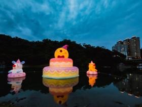 【朝聖幾米月亮!童話水上ig熱點免費拍,地景藝術在碧潭】