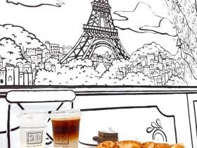 宜蘭2D Cafe打卡去!懷舊50年代鐵路風情,全新開幕再贈乳酪蛋糕!