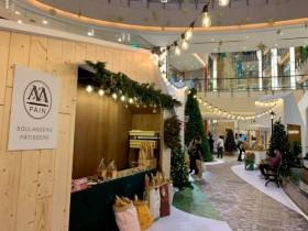 「501 號聖誕市集」打造異國濃厚的「北國雪屋造景」超美!大江購物中心首次耶誕市集帶你偽出國體驗!
