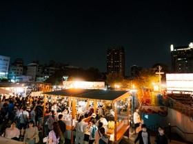 富地市場試營運!台中草悟廣場新景點 日式風格小攤融美食、文創、服飾一次逛!