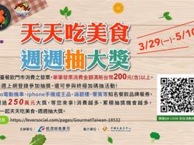 振興加碼!全台餐飲發票滿 200 即可登錄,經濟部週週抽 iPhone 12 Pro、New Gogoro 3、王品、福容餐券等 250 萬元大獎!