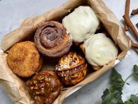 台北101 Salt & Stone 推出「肉桂捲禮盒」,五種肉桂點心限時特價600元有找一次擁有!