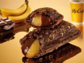 麥當勞雙餡派首次登台,香蕉巧克力經典人氣組合!二款松露堡限定回歸,單點價再折5元!