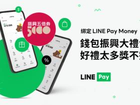 LINE Pay Money綁五倍券人人贈100點,不限名額發放!