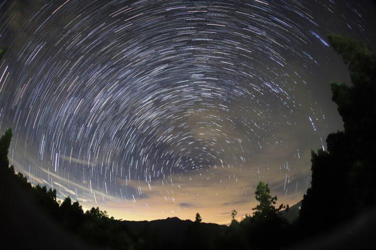 阿里山森林遊樂區沼平星軌