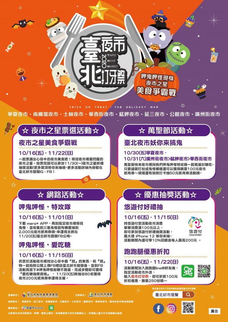 2020臺北夜市打牙祭
