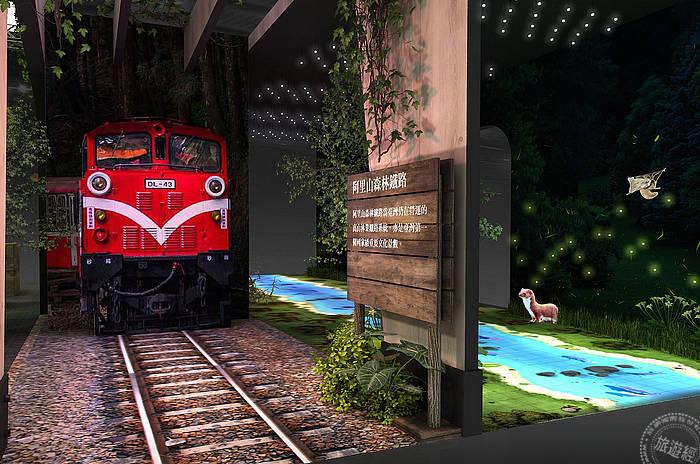 國家森林館2020ITF旅展-阿里山森林鐵道