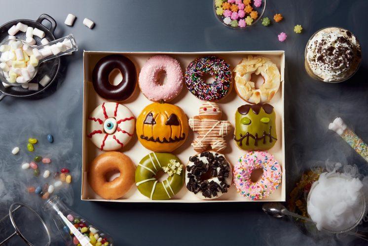 Krispy Kreme萬聖節盒飯