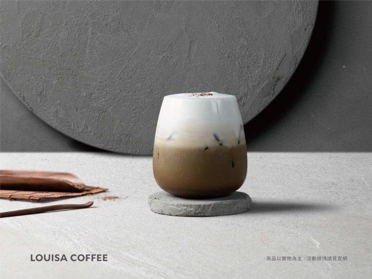 路易莎焙茶鮮奶茶