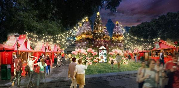 新北耶誕城 夢幻莊園