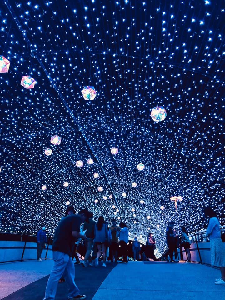 心中山線形公園燈飾