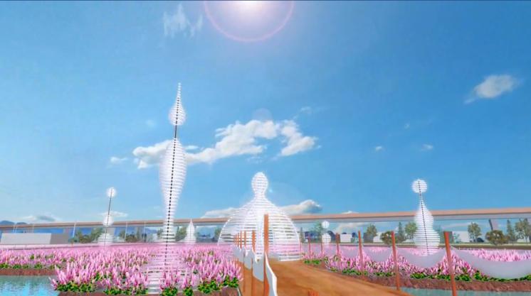 2020桃園仙草花節微光
