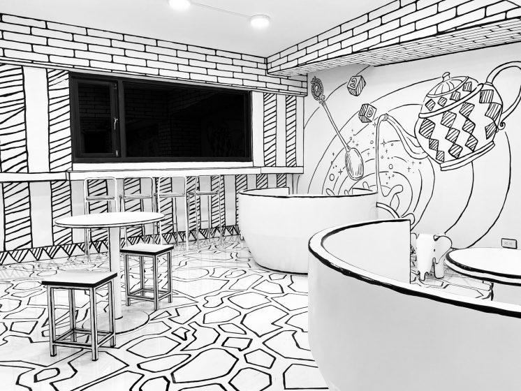 2D Cafe遊樂園風格