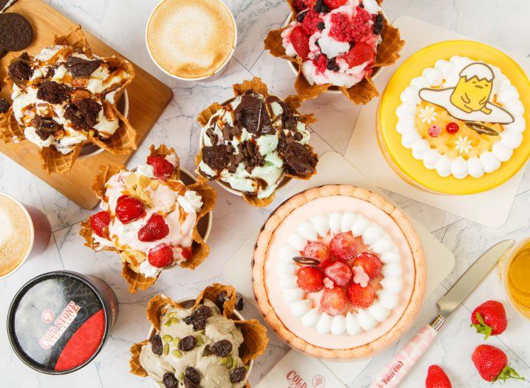 COLD STONE 冰淇淋、蛋糕