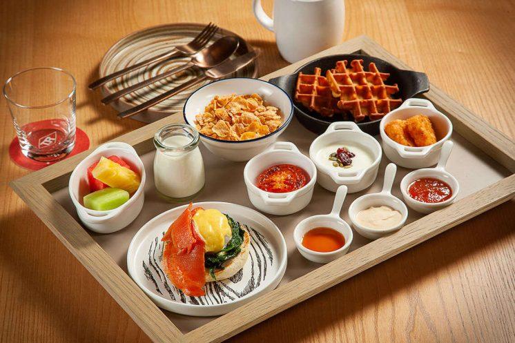 台北大直英迪格酒店早餐