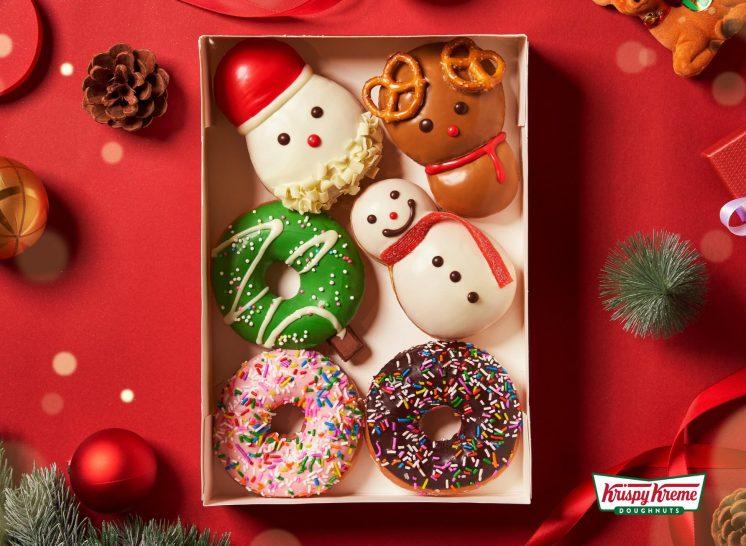 Krispy Kreme耶誕甜甜圈