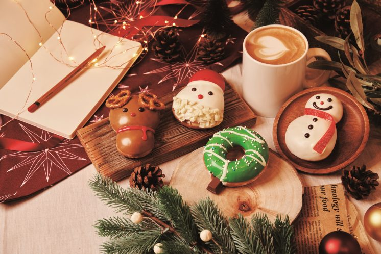 Krispy Kreme耶誕甜甜圈情境圖