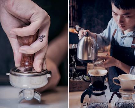 黑浮咖啡 故事