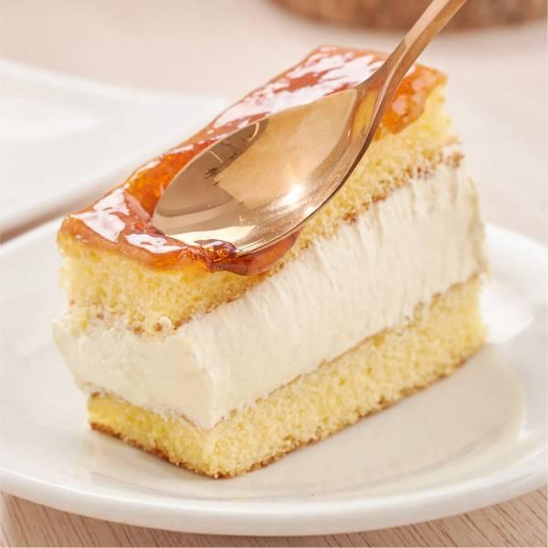 焦糖奶香蛋糕