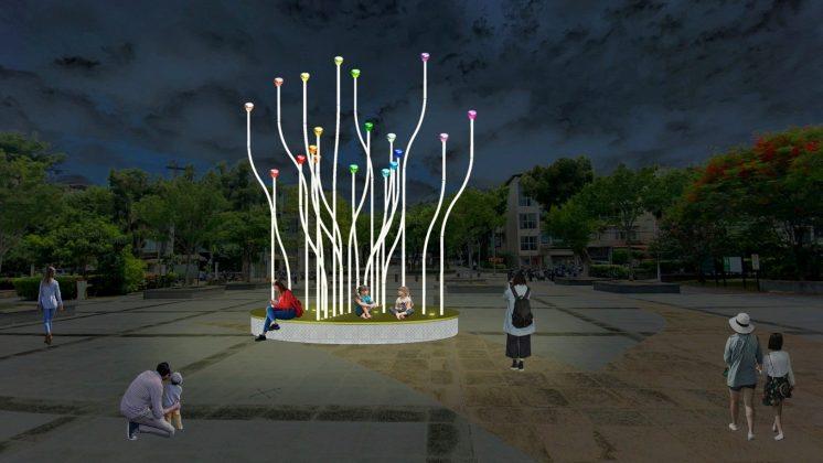 松山區民生公園「微萌之森—樂享生活,和你一起」