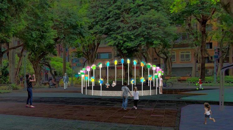大安區永康公園「森友會—關心生活,和你一起」