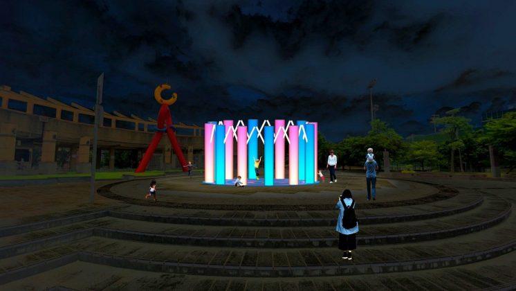 士林區天母運動公園「動感圈圈—好動生活,和你一起」