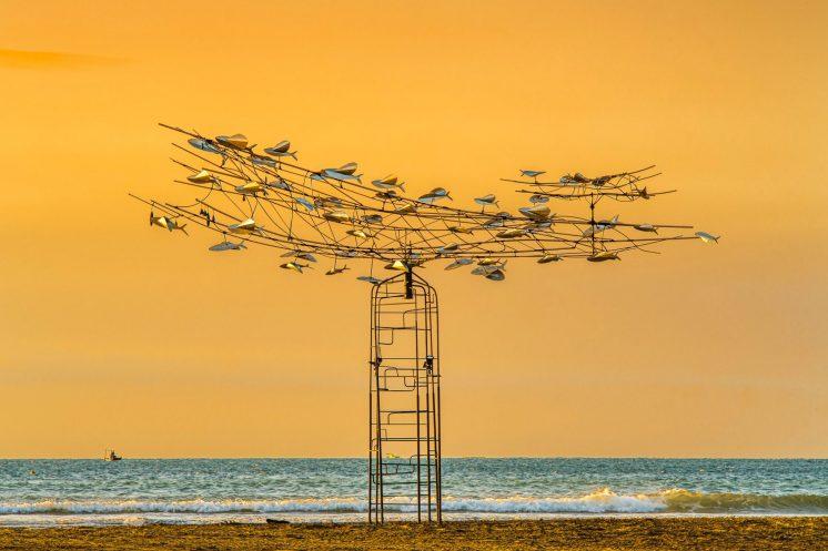落山風藝術季飛魚來了