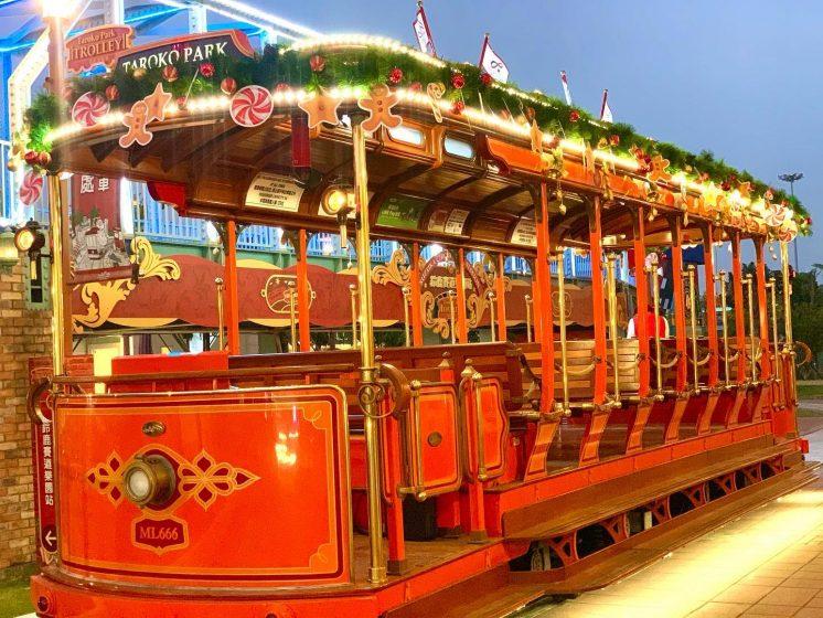 鈴鹿賽道樂園聖誕電車