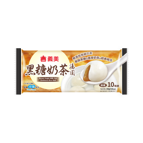 義美黑糖奶茶湯圓