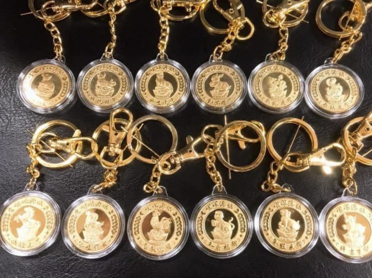 12生肖母鑰匙圈