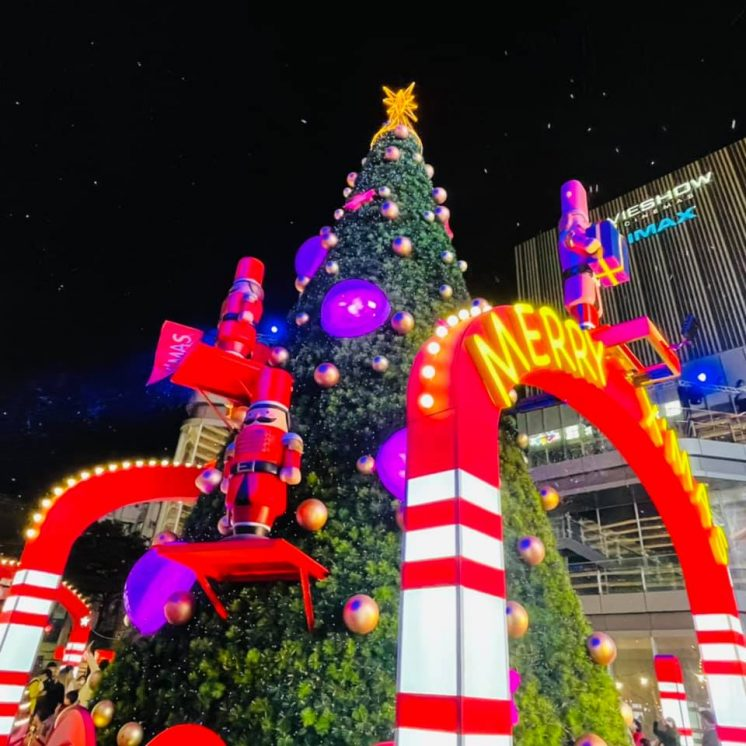 南紡購物中心「胡桃鉗聖誕樹」