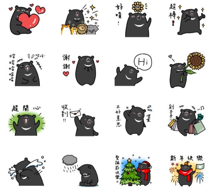 LINE 官方嚴選×喔熊森林