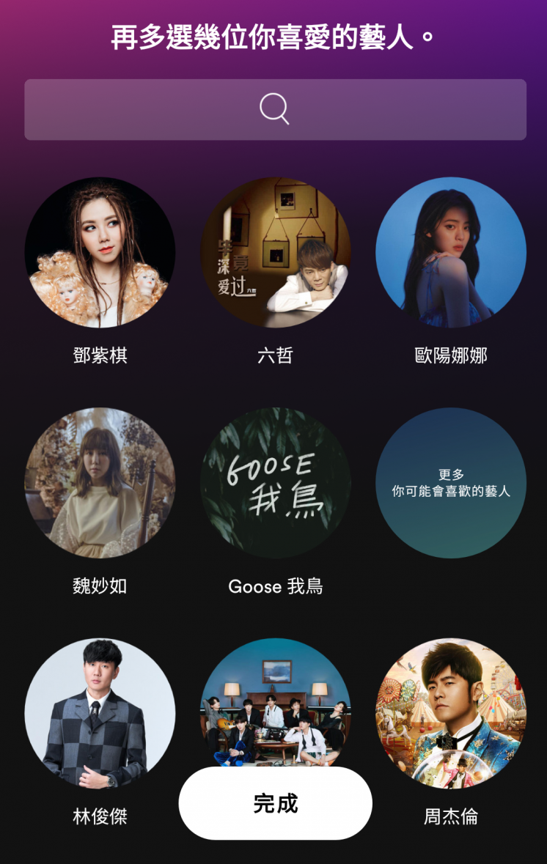 Spotify_推薦藝人