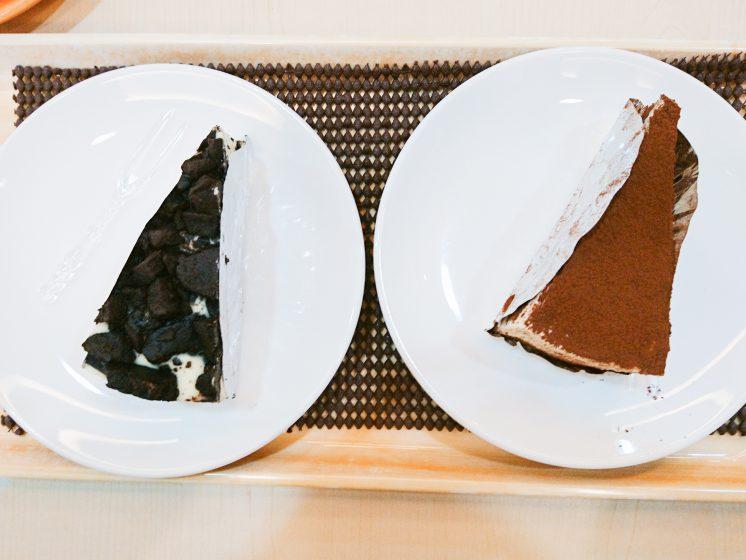 提拉米蘇蛋糕_黑岩優格乳酪、提拉米蘇
