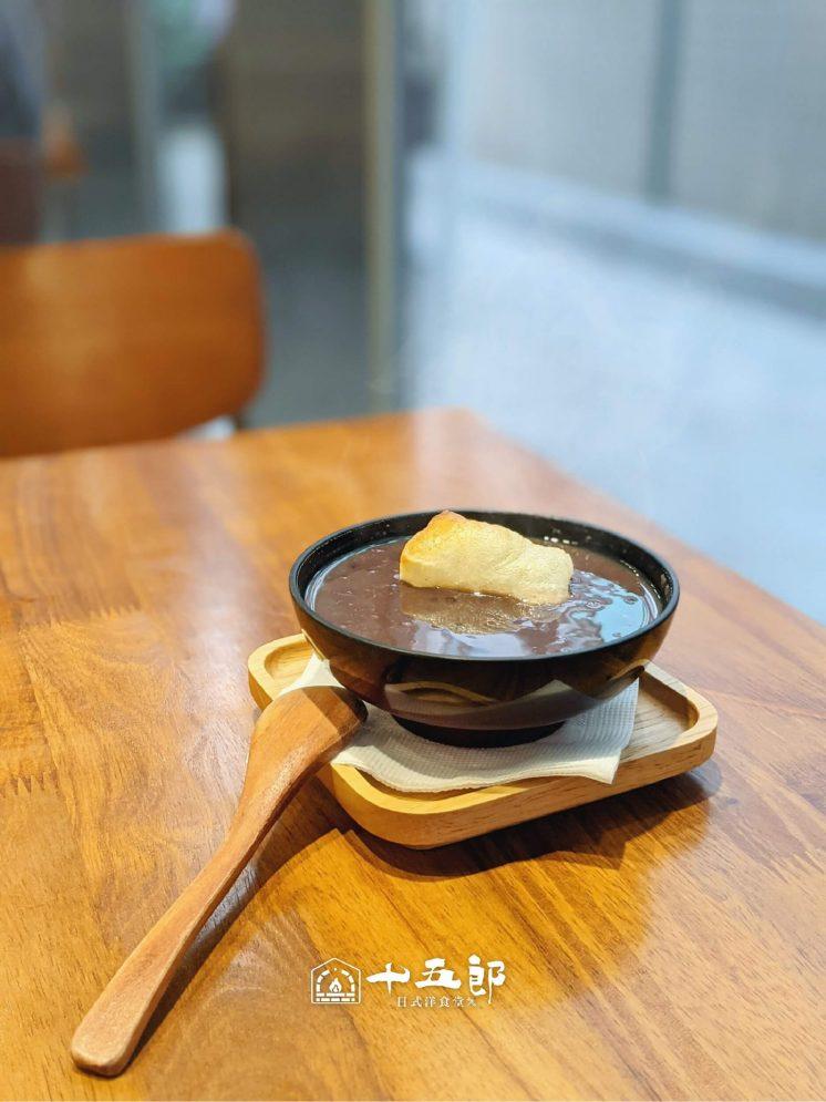 日式烤麻糬紅豆湯