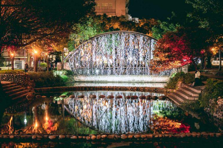 新竹燈會白晝之葉