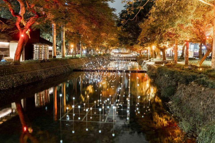 新竹燈護城河