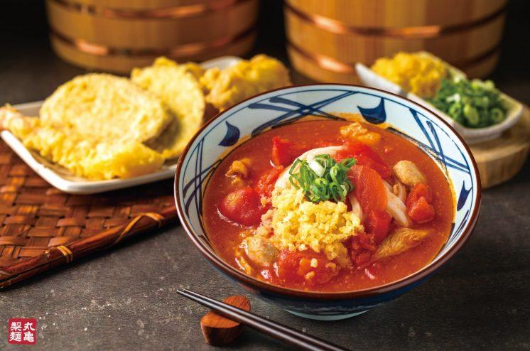 番茄雞肉烏龍麵
