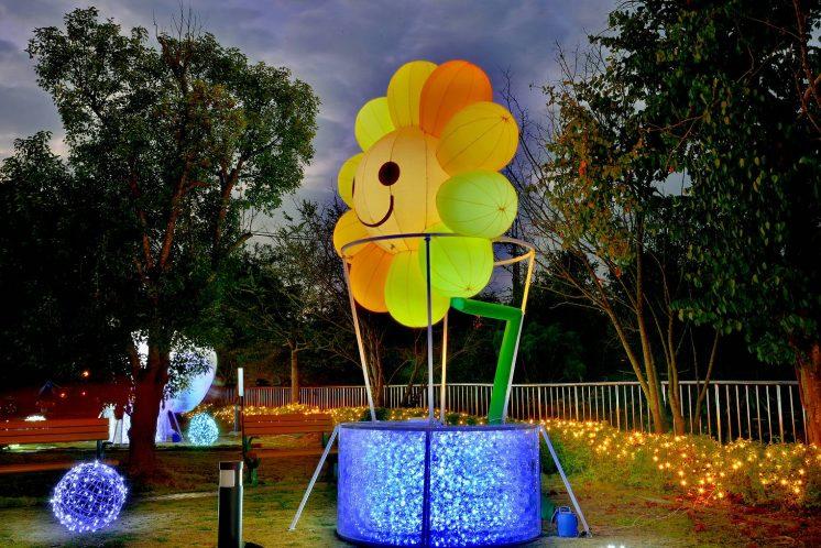 希望燈場太陽花熱氣球