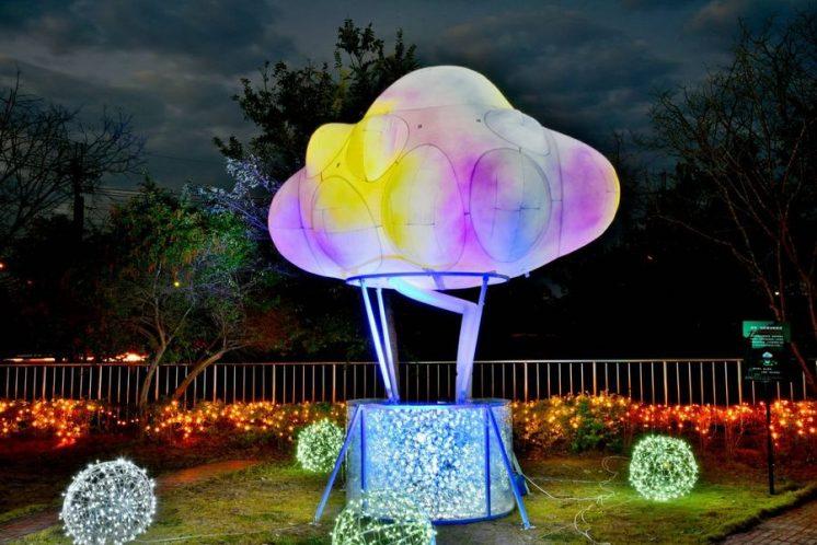 希望燈場雲朵熱氣球