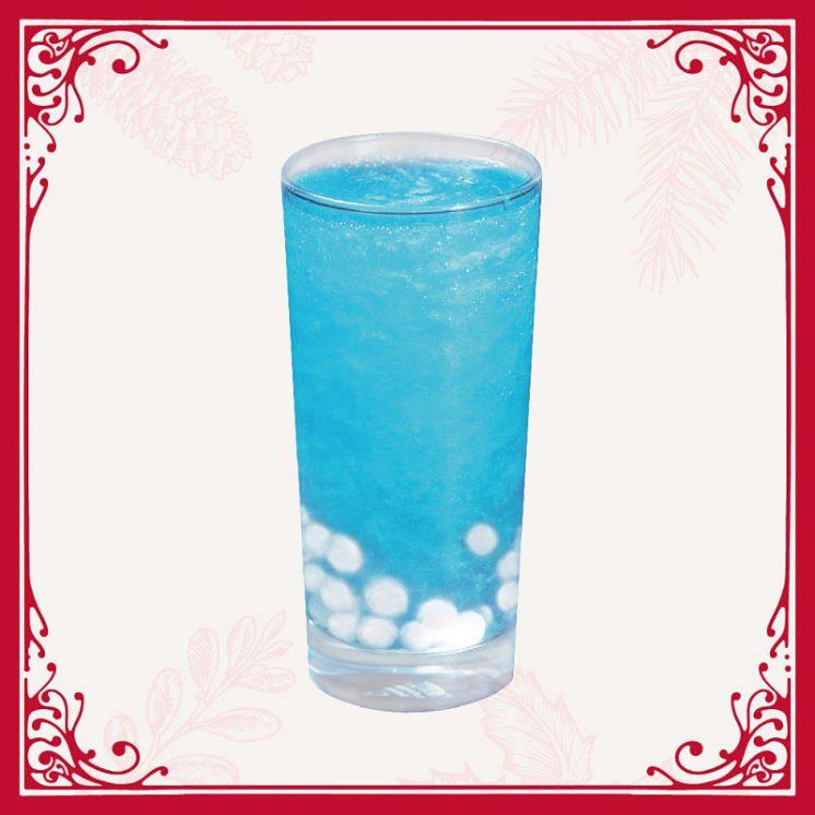 雪花氣泡飲