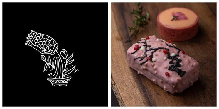 小滿:檸檬櫻花塔、櫻花草莓磅蛋糕