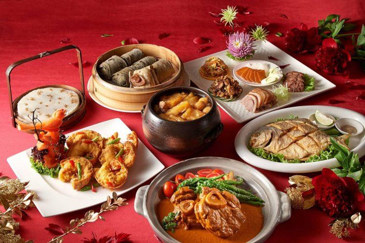 台北美福大飯店年菜