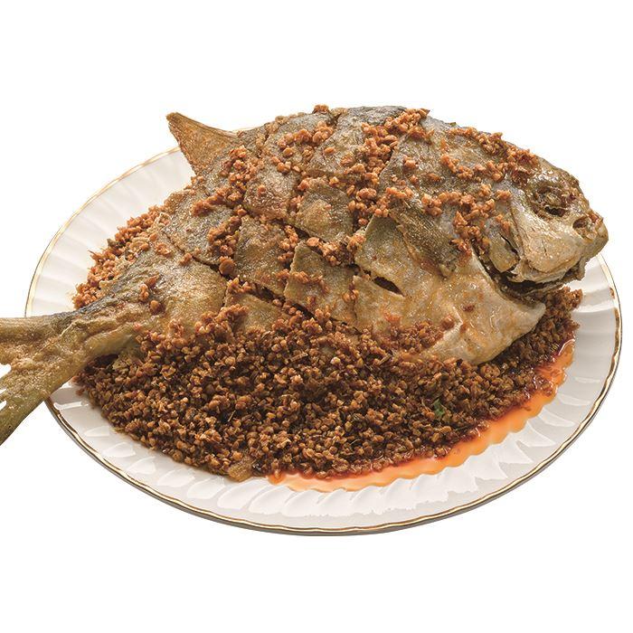 阿發師豆酥鯧魚