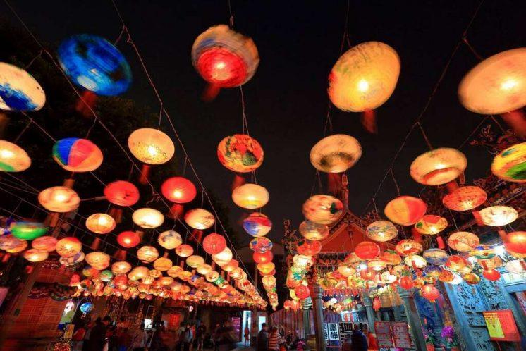 台南普濟殿燈會