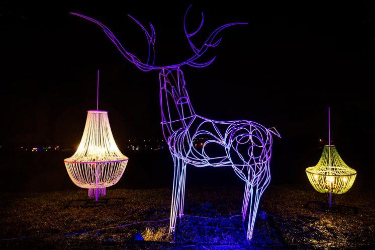 冬山舊河港燈節 裝置藝術