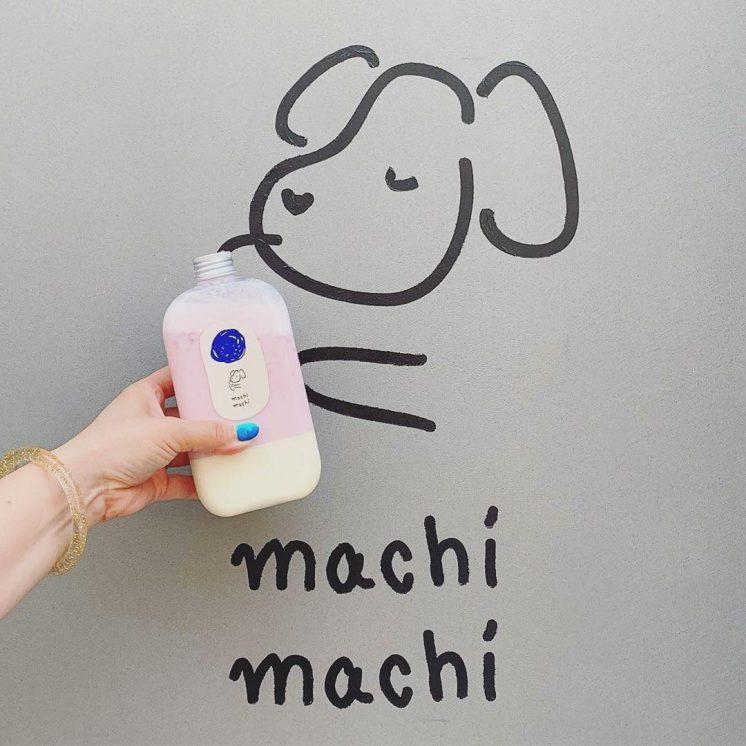 Machi Machi:草莓鮮奶