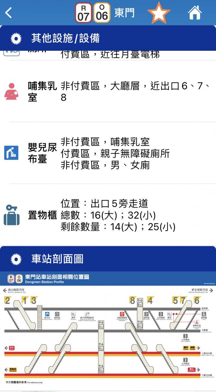 台北捷運GO_車站擁擠度_車站頗面圖