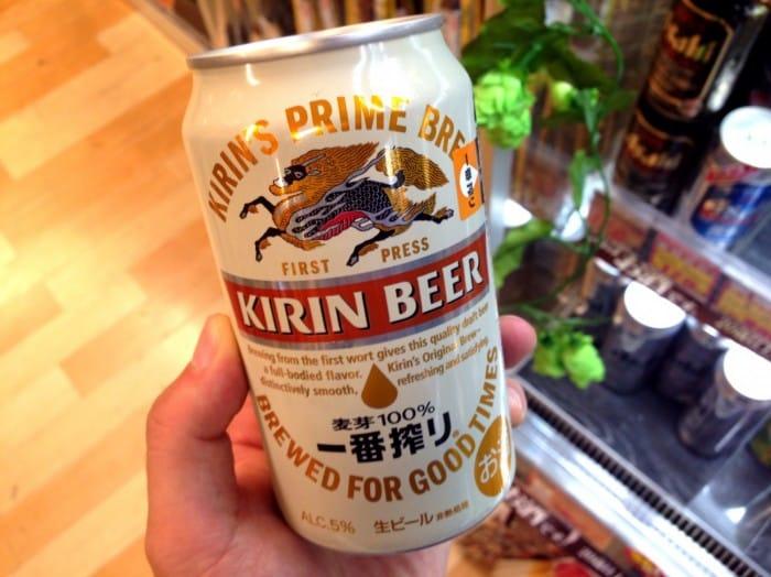 KIRIN 啤酒